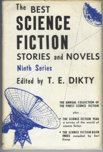 The Best Science Fiction Stories and Novels. Ninth Series. ed T.E. Dikty. 1958.