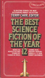 Best Science Fiction of the Year 12. ed Terry Carr. 1983