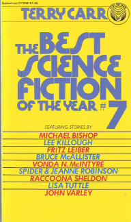 Best Science Fiction of the Year 7. ed Terry Carr. 1978