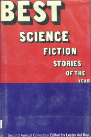 Best Science Fiction Stories of the Year, Second Annual Collection. ed. del Rey, 1973