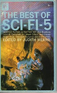 The Fifth Annual of the Year's Best SF. Judith Merril. Simon & Schuster 1960