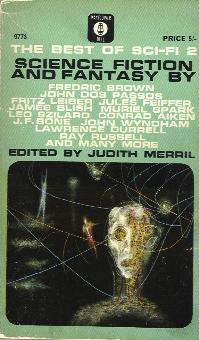 The Seventh Annual of the Year's Best SF. Judith Merril. Simon & Schuster 1962