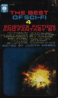 The Eighth Annual of the Year's Best SF. Judith Merril. Simon & Schuster 1963